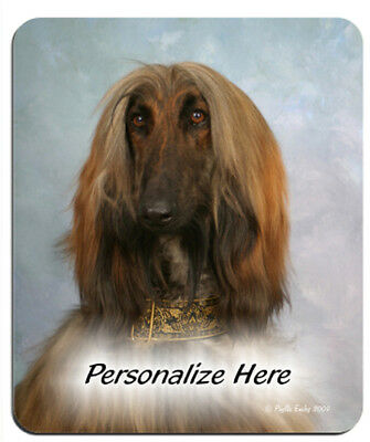 Afghan  Hound  (11)   Personalized  Mouse Pad