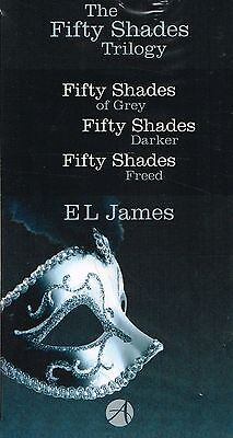 NEW BOOK The Fifty Shades Trilogy Collection E L James, Fifty 50 Shades of Grey