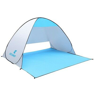 Beach tent pop up open person quick automatic opening UV protect waterproof fish