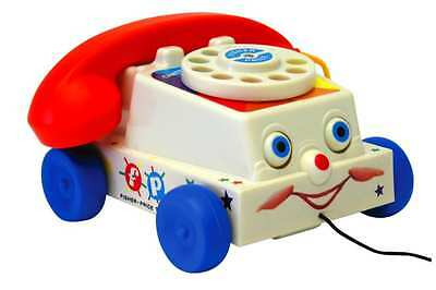 New Fisher Price Classic Chatter Phone Toy Pull Telephone Toddler Baby Retro