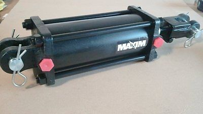 "NEW MAXIM TIE ROD CYLINDER 4"" BORE x 8"" STROKE (ASAE) 1 1/2"" DIAMETER ROD"