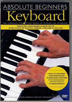 Absolute Beginners Keyboard Learn How to Play DVD