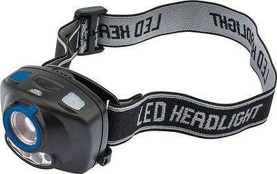 Draper 51319 Expert Cree 3W Led Head Lamp (3 X Aaa Batteries)