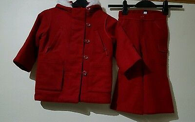 Baby Gap Girls Coat and trousers 3 Years in Excellent condition