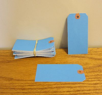 150 Avery Dennison Blue Colored Shipping Tags Inventory Control Scrapbook Id Tag