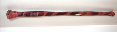 To Assist The Magic In You   1  Pyrex Color Glass Wand--Hand Crafted In The Usa