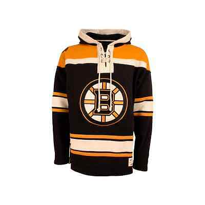 Old Time Hockey NHL Boston Bruins Lacer Jersey Hood