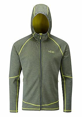 Rab Nucleus Hoody - Thermal Mid Layer, Colour: Zest