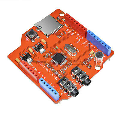 MP3 Music VS1053B shield board with TF card slot work with Arduino UNO MEGA New