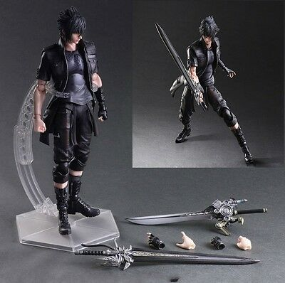 "Hot 10"" Final Fantasy XV Play Arts Kai Noctis Lucis Action Figure New in BOX"