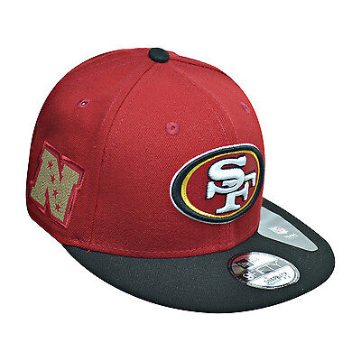 163a023c New Era San Francisco 49ers 9Fifty NFL Men's Fitted Hat Cap Red/Black/White