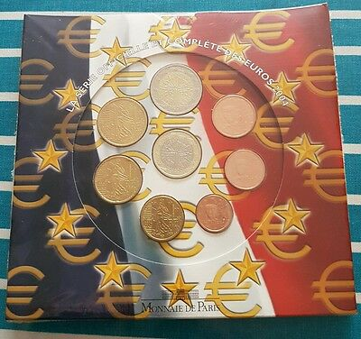 BU FRANCE Série Euro 2004 Neuf - French official Euro coin set 2004 UNC
