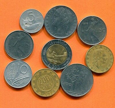 ITALY Coin. Italian Coins Collection, Mixed Lot  L10436