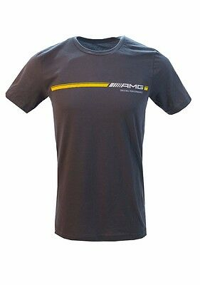 Oem Genuine Mercedes Benz Men's Amg Stripe T-Shirt
