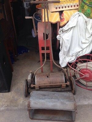 Antique Toro mower Greenskeeper Tool With Grass Catcher