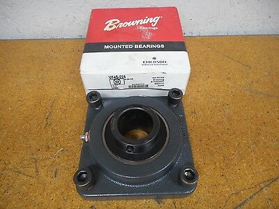 Browning VF4S-224 1-1/2 Mounted Bearing With Set Screw New