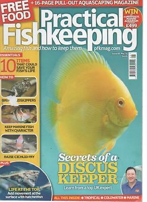 Practical Fishkeeping Magazine  Issue 6  May 2015  Discus Keeper    Ls