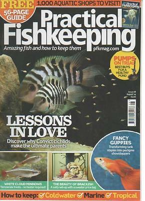 Practical Fishkeeping Magazine  Issue 8  August 2014  Fancy Guppies    Ls