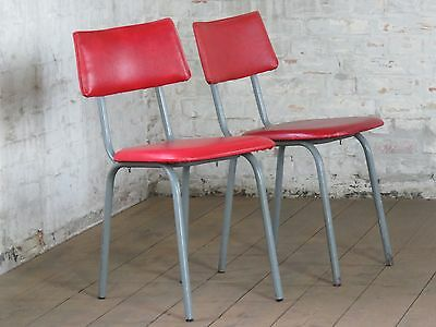 1 / 50 Mid Century Magnificent Kitchen Bar Chair Stuhl Fauteuil Vintage 70s 70er