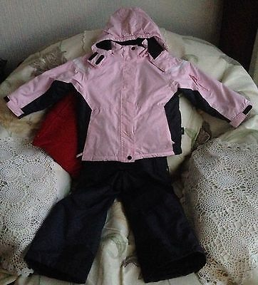Crane Girls Snow Jacket And Trousers Size 5-6 Years