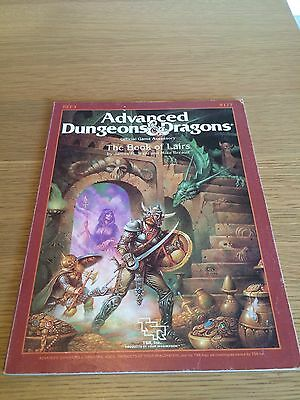 Advanced Dungeons and dragons Tsr Game Accessory The Book Of Lairs