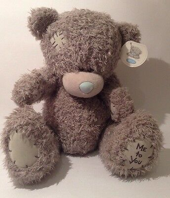 """""""Me to you"""" TATTY TEDDY BEAR. LARGE WITH TAGS. 12"""" / 30 cm"""