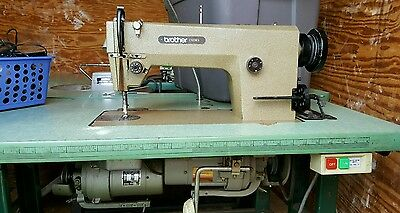 Brother industrial Sewing machine with table