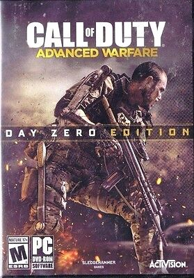 Call of Duty Advanced Warfare Day Zero Edition (PC, 2014)