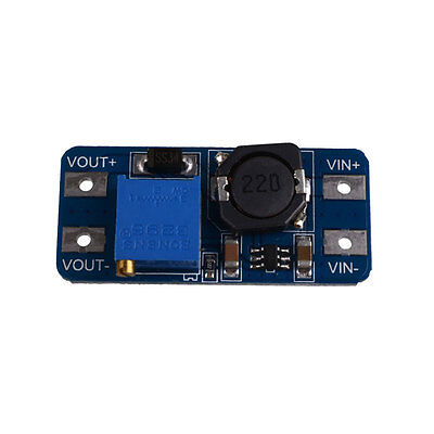 DC-DC 2A Adjustable Step Up Boost Power Converter Module Micro USB NEW