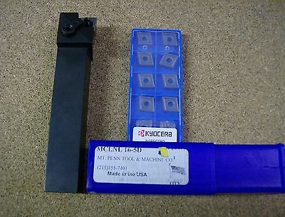 Mclnl 16-5D Tool Holder With 10 Kyocera Cnmg 432Mu Inserts