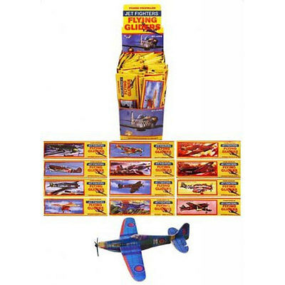 12 Flying Plane Glider - Polystyrene Pinata Toy Loot/Party Bag Fillers Wedding