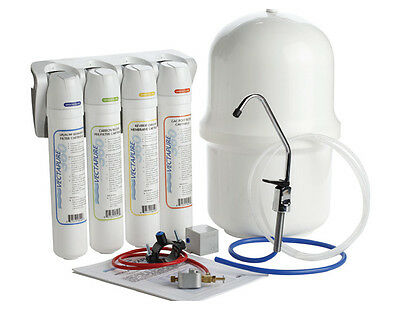 New Vectapure 360 4 Stage  Complete Reverse Osmosis Filtration System V3604Ro
