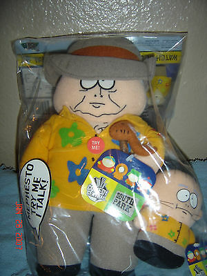 New South Park Talking Mephesto & Kevin Plush Dolls 2004