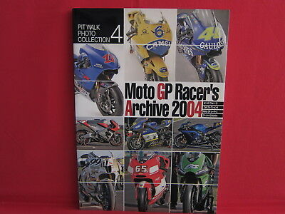 Moto GP Racer's Archive 2004 Photo Collection Book