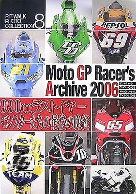 Moto GP Racer's Archive 2006 Photo Collection Book