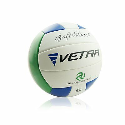 Volleyball Soft Touch Volley Ball Official Size 5 Outdoor Indoor Beach Gym Game