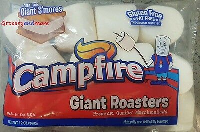 Giant Roasters Campfire Premium Quality Marshmallows 793g Bulk USA Made