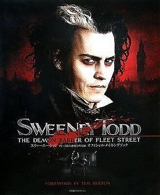 Sweeney Todd Official Making Book