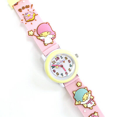 Sanrio Little Twin Stars Kids Children Girls Watch, Soft Strap