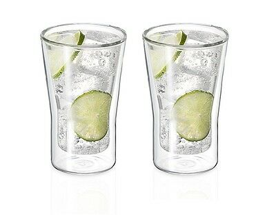 NEW Avanti Uno Twin Wall Glass Set 250ml