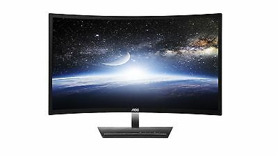 "AOC C2783FQ 27"" LED LCD Curved Computer Monitor 5MS FHD 16:9 HDMI DP DVI VGA"