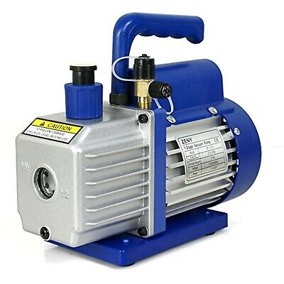 Zeny 3,5CFM Single-Stage 5 Pa Rotary Vane Economy Vacuum Pump 3 CFM 1/4HP Air Co