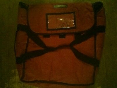 Restaurant pizza bag jumbo Great Condition