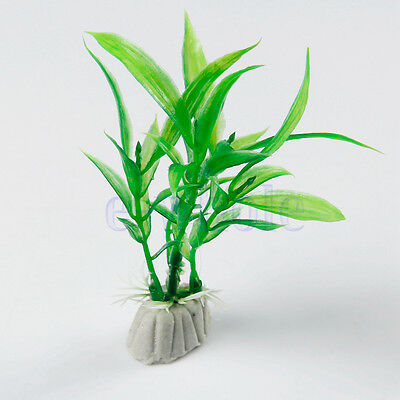 3 Artificiel Aquarium Craft Plant Pots Fée Dollhouse Décor Jardin Ornement KK • EUR 2,07