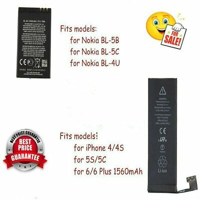 1560mAh Li-ion Battery Replacement with Flex Cable for iPhone 5S/5C/6/6plus FY