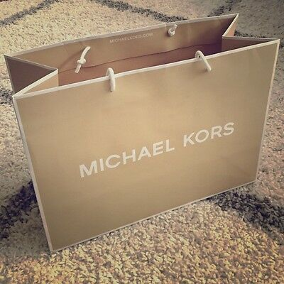 MICHAEL KORS 20X16X8.5cm Shopping Paper Carrier Ideal Valentine  Gift Bag - New