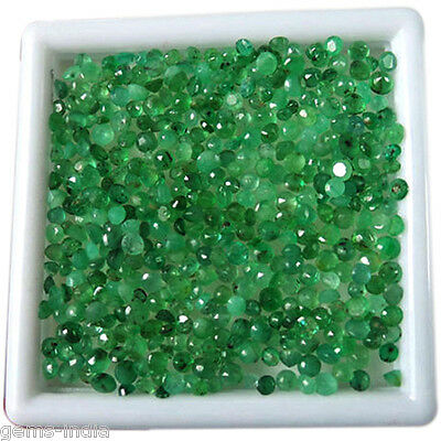 20.05 Cts/300 Pcs Natural Colombian Emerald Untreated Gemstones 1mm-3mm