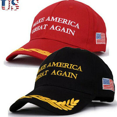 2016 Fashion Make America Great Again Hat Donald Trump Republican Cap GOOD