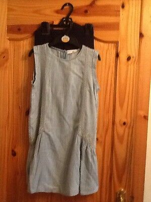 Bnwt M&s Girls Blue Top And Leggings Outfit Age 10-11