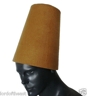 Traditional whirling Dervish Hat, Sufi hat ''Sikke''